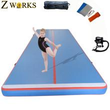 Tamaño inflable de la pista del aire los 8m de largo usando para el entrenamiento de los deportes gimnásticos para la venta