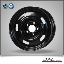 Ruedas negras de 15 pulgadas de la rueda de la rueda del coche de 5 llantas de la fábrica profesional