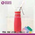 New arrivel cream whipper dispenser 500ml matched rubber
