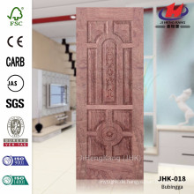 JHK-018 Schöner Komplex Beliebtes Iran Projekt Furnier N-Bubingga Holz Tür Material