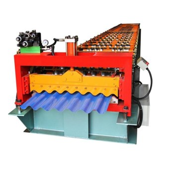 Metal Roofing Corrugated Tile Making Machine For Sale
