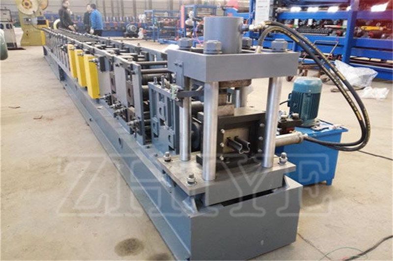 Warehouse Ράφια Rolling Forming Machine