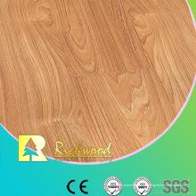 Kommerzielle 12,3 mm E1 Spiegel Buche gewachst eingefasst laminierten Boden