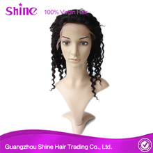 Raw-Vrigin Hair Full Lace Wig Deep Wave