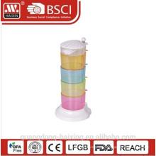 HaiXing красочные пластиковые потир набор соль и перец потир