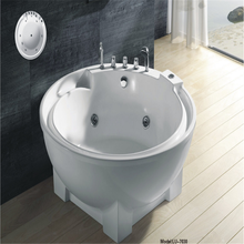 High Quality Floor Stand Faucet Oval Shaped Bathtub