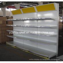 Estante del estante de exhibición del estante de la góndola del supermercado (YD-014)
