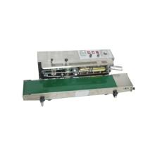 Die Siegelrichtungsband-Verschließmaschine mit dem Kodierer FRD-1000 wurde angepasst