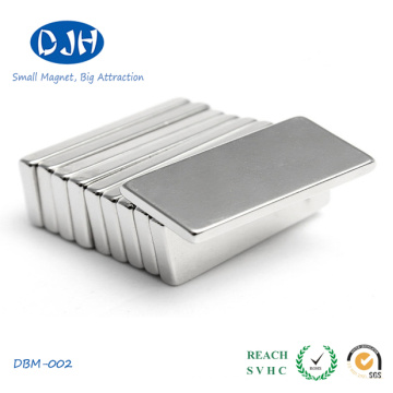 Permanent Block Magnet Nickel Coating Magnetized Through Thickness