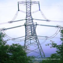 Torre de transmisión de potencia angular de 220 kv