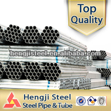 ASTM A53 1 1 2 inch galvanized steel pipe