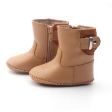बच्चे सर्दियों चमड़े के जूते