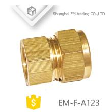 EM-F-A123 Schlauch gerade Kupplung Messing Quick Cooper Rohrverbinder