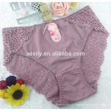 AS-A572 culotte de bikini en dentelle chinlon nouvelle mode slip culotte taille libre sous-vêtements