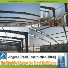 Galvanized Light Steel Structure Warehouse