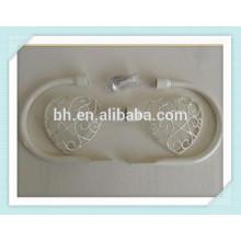 NEUE Cream Shabby Chic Metall Herz Vorhang Hold Tie Rücken Finials Fixings Vintage