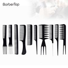 Hot Professional Highlight Custom Plastic Barber Detangling Hair Cutting Comb