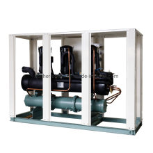 45HP 154kw Multi Protection Low Noise Cabinet Type Industrial Water Chiller for Plastic Blowing