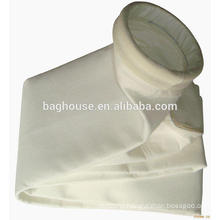 Nomex PPS teflon filter bag / fiberglass dust collector bag filter