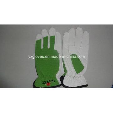 Schaf Leder Handschuh-Schaf Leder Handschuh-Arbeitshandschuh-Sicherheitshandschuh-Ziegenfell Handschuh
