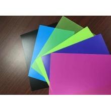 Material de cartão plástico de PVC
