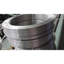 Tubos de bobina de acero inoxidable para condensador / intercambiador de calor