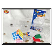 plastic magic puzzle cube for education
