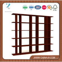 Customized 6′ Wide Wooden Gondola Store Display Stand