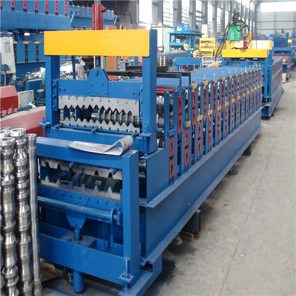 Three Layer Roof Tile Roller Former