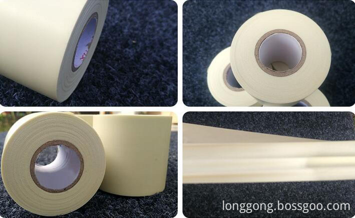 pvc pipe wrapping tape without adhesive
