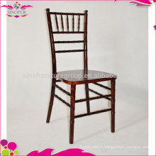 Cheap price rental chairs chaises en bois