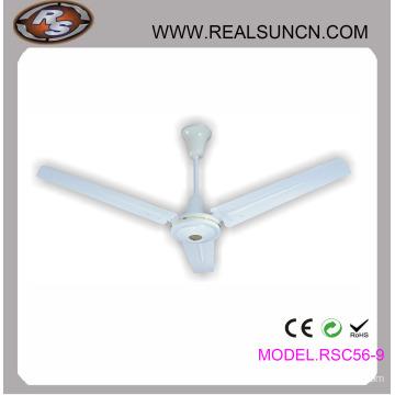 Indoor 56inch Ceiling Fan with Metal Blade