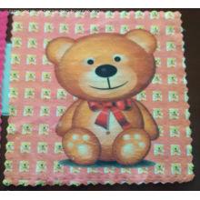 Microfiber Handkerchief Cartoon Printing Square Towel