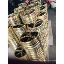 Precisión de piezas de fundición de rueda de mano de acero al carbono / hierro / metal