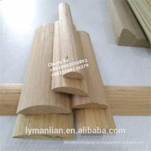 In Indien werden dekorative Formteile aus Holz verwendet