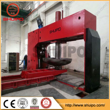 SHUIPO New Product Dished Head Pressing Machine dished end flanging machine