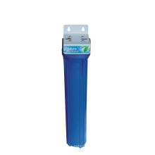 Filtro de água azul de 20 polegadas Sigle com suporte