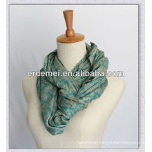 Viscose printed neckerchief/luxury scarf