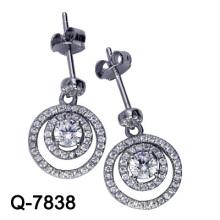 Latest Styles Earrings 925 Silver Jewelry (Q-7838. JPG)