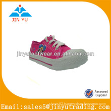 Low price wholesale fuchsia canvas shoes
