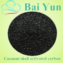Filtre à air de charbon actif de coquille de noix de coco granulaire de valeur de l'iode 1050