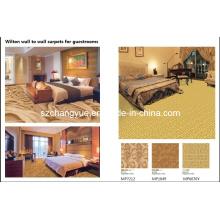 Power Loom Wilton Wand zu Wall Wool Hotel Teppiche