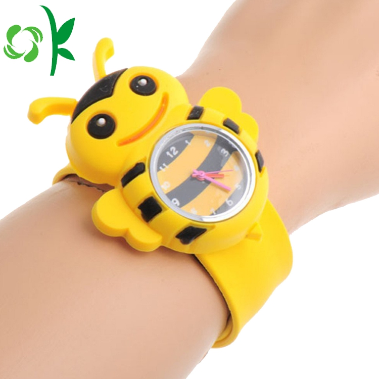Yellow Bee Slap Bracelet