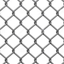 galvanised 3 feet used chain link fence for sale