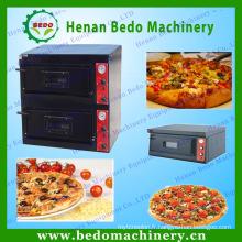 Four à pizza à gaz manuel en acier inoxydable et fours à pizza à vendre