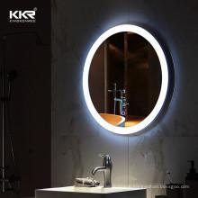2020 KKR Mirror Hotel Decoration Smart Led Bathroom Mirror with Defogger System touching mirror australia