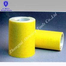 Rollo de papel de arena de carburo de silicio amarillo de promoción de la fábrica