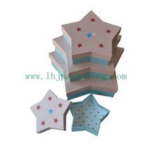 Luxury Star Shape Paper Packaging Gift Box