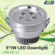 5w high power rectangular led downlight
