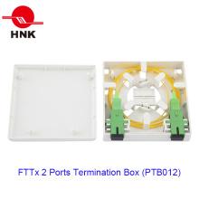 FTTH 86 Tipo 2 Portas Fibra Óptica Caixa Terminação de Cabo (PTB086)